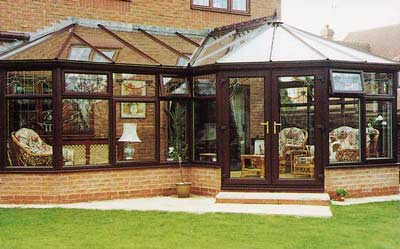 High Wycombe P-shaped conservatory, Bucks