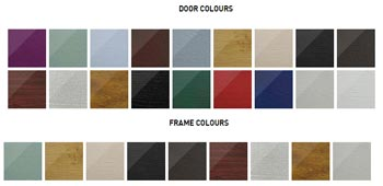 Solidor Itallia Range door and frame colours