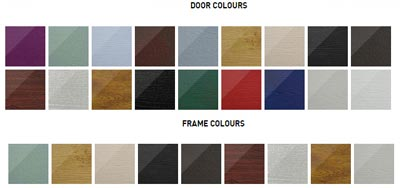 Solidor stable door and frame coloure