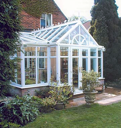 High Wycombe T-shaped conservatory, Bucks